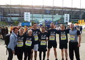 KKI beim B2Run in Hamburg